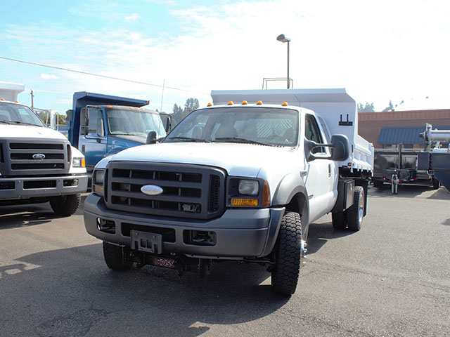 6657.B. 2012 Ford F550 4x4 Superduty four door Super Cab 2 ½ - 3 yard dump truck from Town and Country Truck and Trailer Sales, Kent (Seattle), WA.