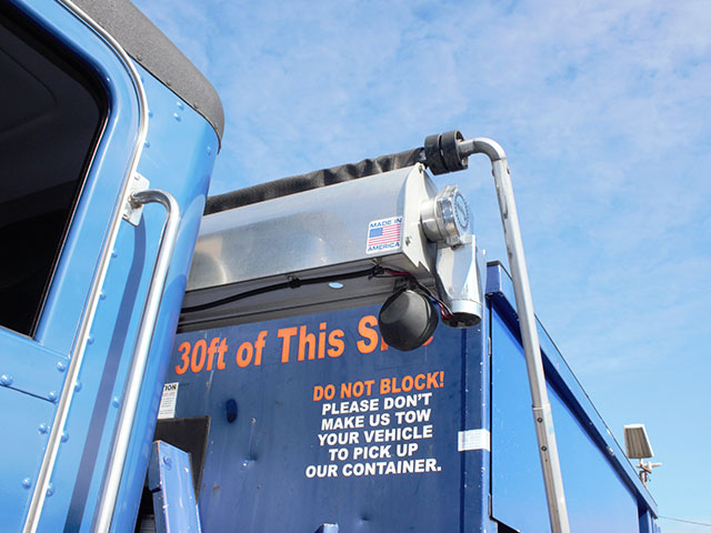 ES2014.L. 2014 Peterbuilt 337 Non-CDL Roll Off truck from Town and Country Truck and Trailer Sales, Kent (Seattle), WA.