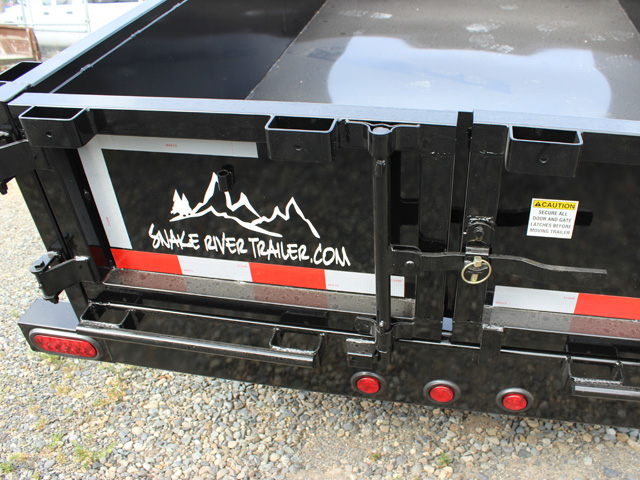 DMP5X10.G. 2015 SNAKE RIVER 5 x 10 ft. Single Axle Dump Trailer from Town and Country Commercial Truck Sales, Kent (Seattle), WA