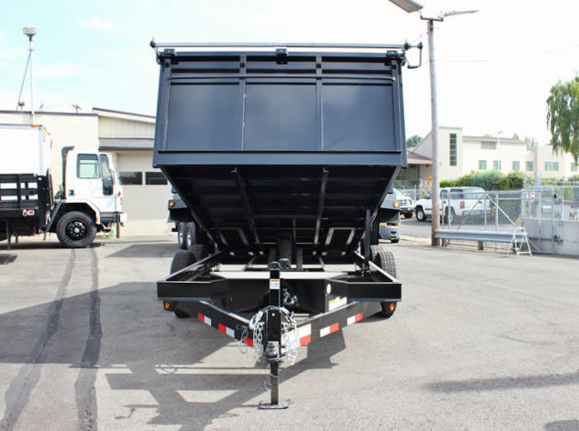 DMP14X36X14K.D. 2015 SNAKE RIVER 36 in. Tall Sided Dump Trailer from Town and Country Commercial Truck Sales, Kent (Seattle), WA