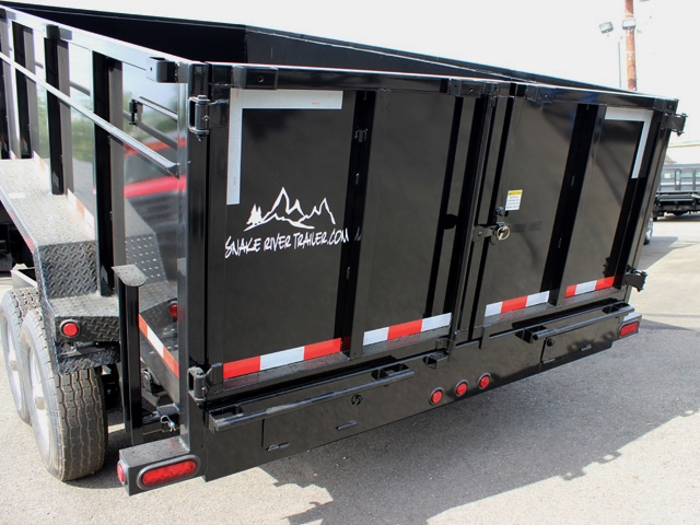 DMP14X36X14K.L. 2015 SNAKE RIVER 36 in. Tall Sided Dump Trailer from Town and Country Commercial Truck Sales, Kent (Seattle), WA