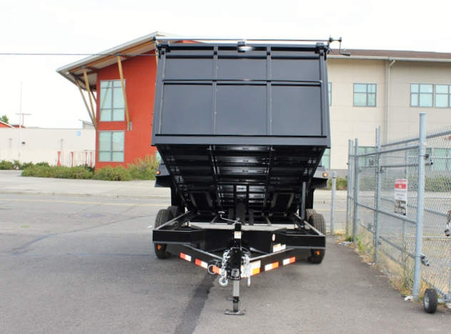 DMP14X48X14K.D. 2015 SNAKE RIVER 48 in. Tall Sided Dump Trailer from Town and Country Commercial Truck Sales, Kent (Seattle), WA