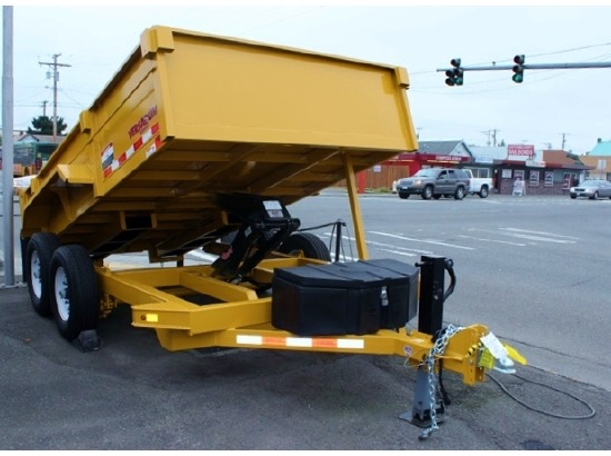 AV12.B. 2015 VERSADUMP 12 ft. x 82 in. Dump Trailer from Town and Country Commercial Truck Sales, Kent (Seattle), WA