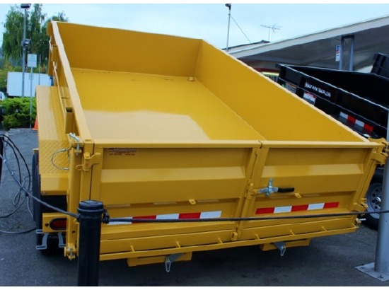 AV12.C. 2015 VERSADUMP 12 ft. x 82 in. Dump Trailer from Town and Country Commercial Truck Sales, Kent (Seattle), WA
