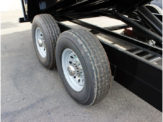 DMP14X26.14K.G. 2015 SNAKE RIVER 26 in. Tall Sided Dump Trailer from Town and Country Commercial Truck Sales, Kent (Seattle), WA