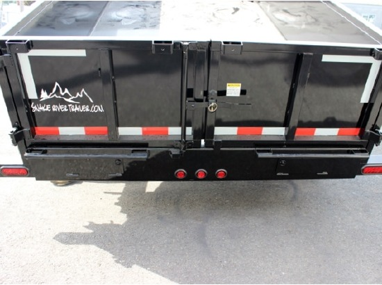 DMP14X26.14K.H. 2015 SNAKE RIVER 26 in. Tall Sided Dump Trailer from Town and Country Commercial Truck Sales, Kent (Seattle), WA