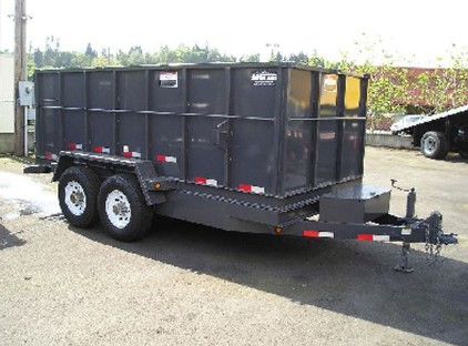 DMPTS7X14.C. 2015 SNAKE RIVER 7X14 Tall Sided Dump Trailer from Town and Country Commercial Truck Sales, Kent (Seattle), WA