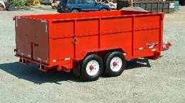 HE12X82.B. 2015 MIDSOTA HE-12 VERSADUMP 12 ft. x 82 in. Dump Trailer from Town and Country Commercial Truck Sales, Kent (Seattle), WA