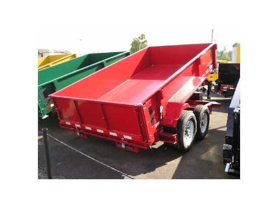 HV12X82.C. 2015 MIDSOTA VERSADUMP 12 ft. x 82 in. Dump Trailer from Town and Country Commercial Truck Sales, Kent (Seattle), WA
