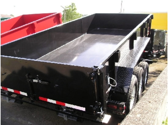 HV16X82.B. 2015 Midsota Versadump 16 ft. x 82 in. Dump Trailer from Town and Country Commercial Truck Sales, Kent (Seattle), WA