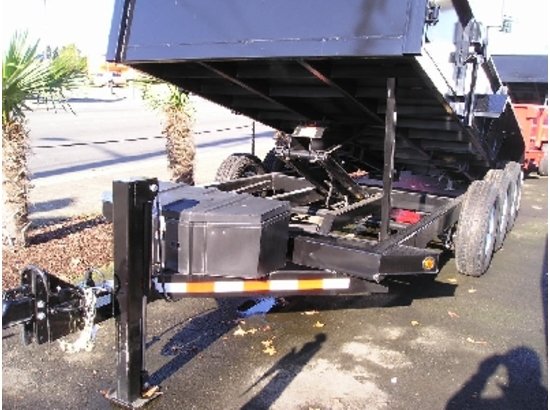HV16X82.C. 2015 Midsota Versadump 16 ft. x 82 in. Dump Trailer from Town and Country Commercial Truck Sales, Kent (Seattle), WA