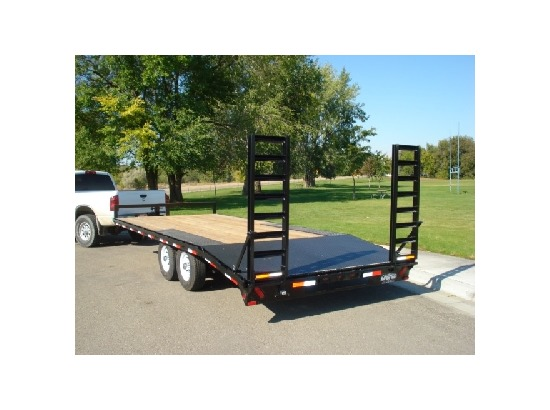 SREQ.B. 2015 Snake River 16/18/20 ft. Deck-Over Equipment Trailer from Town and Country Commercial Truck Sales, Kent (Seattle), WA