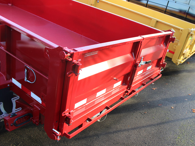 1109.B. 2015 Versa HV-14 82 inch x 14 feet dump trailer from Town and Country Commercial Trailer and Truck Sales, Kent (Seattle), WA