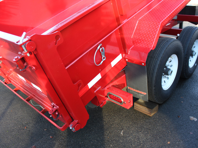 1109.C. 2015 Versa HV-14 82 inch x 14 feet dump trailer from Town and Country Commercial Trailer and Truck Sales, Kent (Seattle), WA