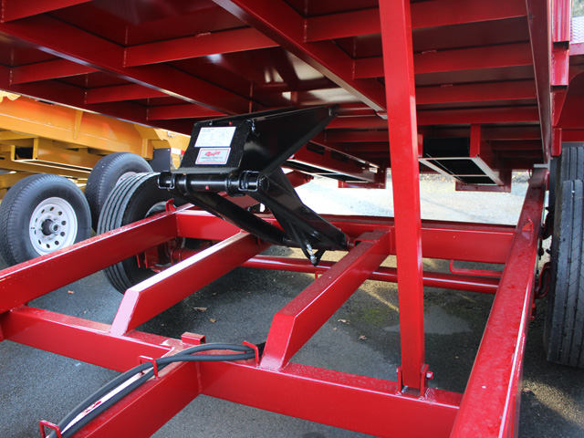 1109.D. 2015 Versa HV-14 82 inch x 14 feet dump trailer from Town and Country Commercial Trailer and Truck Sales, Kent (Seattle), WA