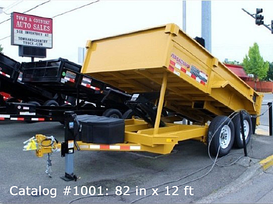 1.A. HV Series Dump Trailers from Town and Country Commercial Trailer and Truck Sales, Kent (Seattle), WA