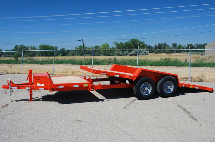 A. 3/4 Tilt Flatbed Trailers from Town and Country Commercial Truck and Trailer Sales, Kent (Seattle), WA