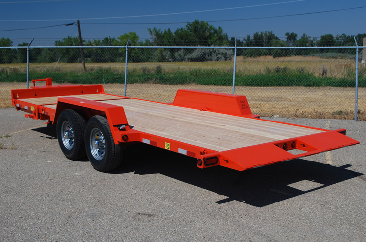 I. 3/4 Tilt Flatbed Trailers from Town and Country Commercial Truck and Trailer Sales, Kent (Seattle), WA
