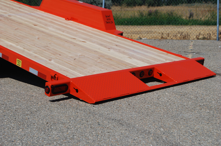 K. 3/4 Tilt Flatbed Trailers from Town and Country Commercial Truck and Trailer Sales, Kent (Seattle), WA