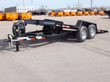 A. 16 Ft. Full Equipment Tilt Trailer from Town and Country Commercial Trailer and Truck Sales, Kent (Seattle), WA