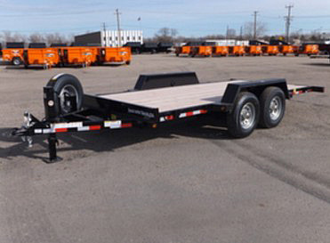B. 16 Ft. Full Equipment Tilt Trailer from Town and Country Commercial Trailer and Truck Sales, Kent (Seattle), WA