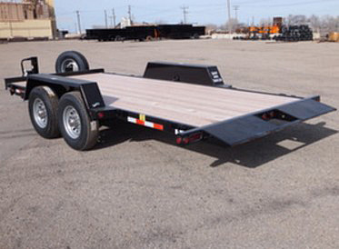 C. 16 Ft. Full Equipment Tilt Trailer from Town and Country Commercial Trailer and Truck Sales, Kent (Seattle), WA
