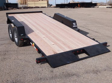 E. 16 Ft. Full Equipment Tilt Trailer from Town and Country Commercial Trailer and Truck Sales, Kent (Seattle), WA