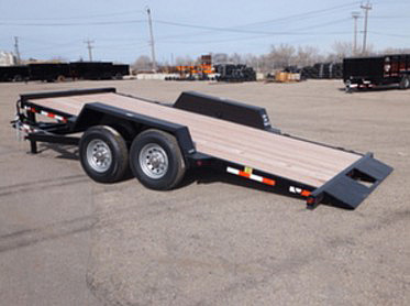 F. 16 Ft. Full Equipment Tilt Trailer from Town and Country Commercial Trailer and Truck Sales, Kent (Seattle), WA