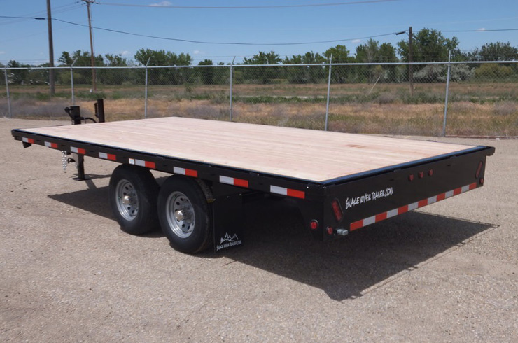 B. Flatbed Form Trailers from Town and Country Commercial Truck and Trailer Sales, Kent (Seattle), WA