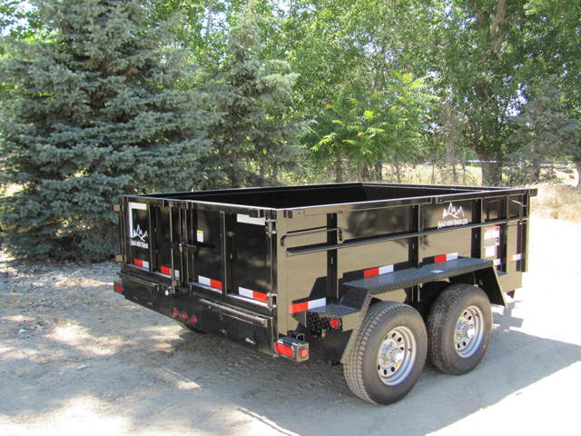 4. Snake River 7 ft. wide Trailer from Town and Country Commercial Truck and Trailer Sales, Kent (Seattle), WA