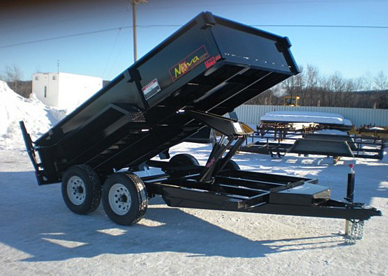 10. Nova DT Series Front Flat Rear Dump Trailer from Town and Country Commercial Truck and Trailer Sales, Kent (Seattle), WA