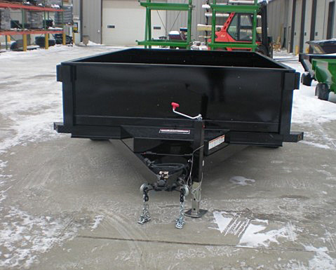11. Nova DT Series Front Flat Rear Dump Trailer from Town and Country Commercial Truck and Trailer Sales, Kent (Seattle), WA