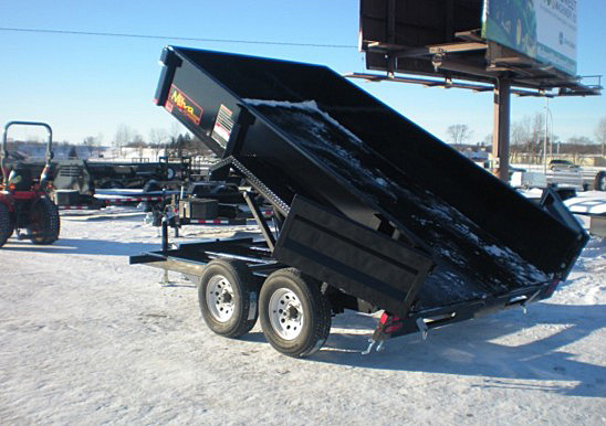 12. Nova DT Series Front Flat Rear Dump Trailer from Town and Country Commercial Truck and Trailer Sales, Kent (Seattle), WA