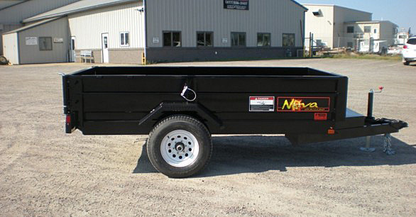 13. Nova DT Series Front Flat Rear Dump Trailer from Town and Country Commercial Truck and Trailer Sales, Kent (Seattle), WA