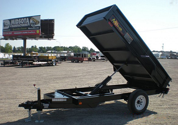 15. Nova DT Series Front Flat Rear Dump Trailer from Town and Country Commercial Truck and Trailer Sales, Kent (Seattle), WA