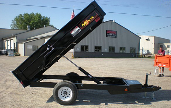 DT17. Nova DT Series Front Flat Rear Dump Trailer from Town and Country Commercial Truck and Trailer Sales, Kent (Seattle), WA