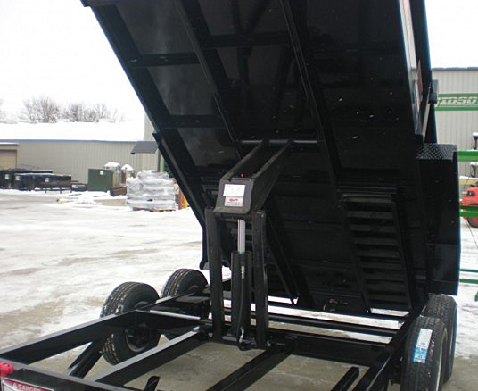 DT18. Nova DT Series Front Flat Rear Dump Trailer from Town and Country Commercial Truck and Trailer Sales, Kent (Seattle), WA