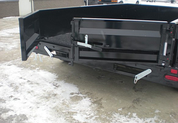 3. Nova DT Series Front Flat Rear Dump Trailer from Town and Country Commercial Truck and Trailer Sales, Kent (Seattle), WA