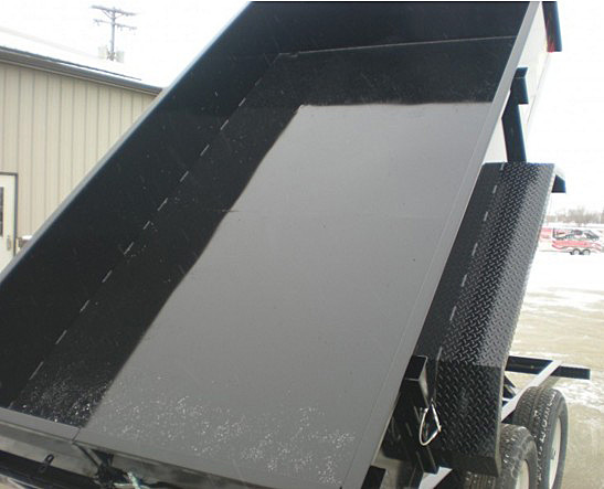 6. Nova DT Series Front Flat Rear Dump Trailer from Town and Country Commercial Truck and Trailer Sales, Kent (Seattle), WA