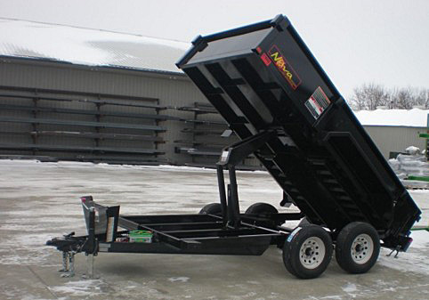 8. Nova DT Series Front Flat Rear Dump Trailer from Town and Country Commercial Truck and Trailer Sales, Kent (Seattle), WA