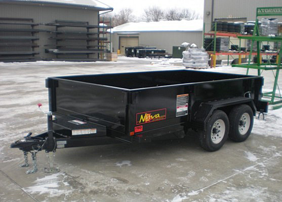 9. Nova DT Series Front Flat Rear Dump Trailer from Town and Country Commercial Truck and Trailer Sales, Kent (Seattle), WA