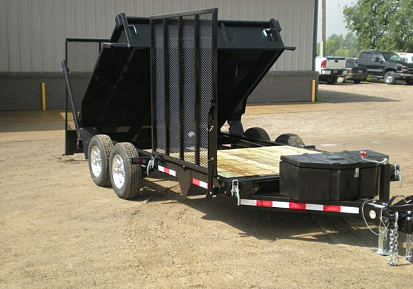 B. FFRD Series Front Flat Read Dump Trailers from Town and Country Commercial Trailer and Truck Sales, Kent (Seattle), WA