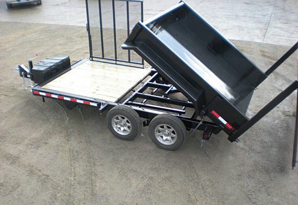 G. FFRD Series Front Flat Read Dump Trailers from Town and Country Commercial Trailer and Truck Sales, Kent (Seattle), WA