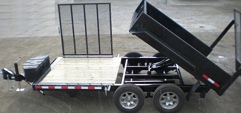 H. FFRD Series Front Flat Read Dump Trailers from Town and Country Commercial Trailer and Truck Sales, Kent (Seattle), WA
