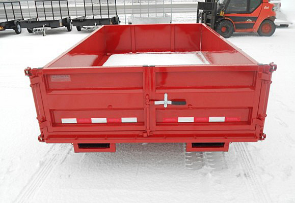 K. FFRD Series Front Flat Read Dump Trailers from Town and Country Commercial Trailer and Truck Sales, Kent (Seattle), WA