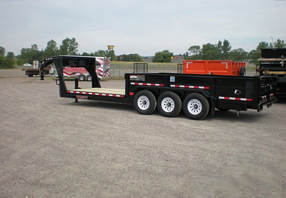 L. FFRD Series Front Flat Read Dump Trailers from Town and Country Commercial Trailer and Truck Sales, Kent (Seattle), WA