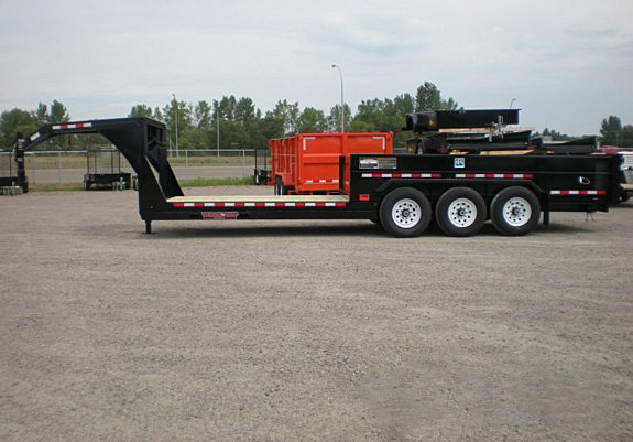 M. FFRD Series Front Flat Read Dump Trailers from Town and Country Commercial Trailer and Truck Sales, Kent (Seattle), WA