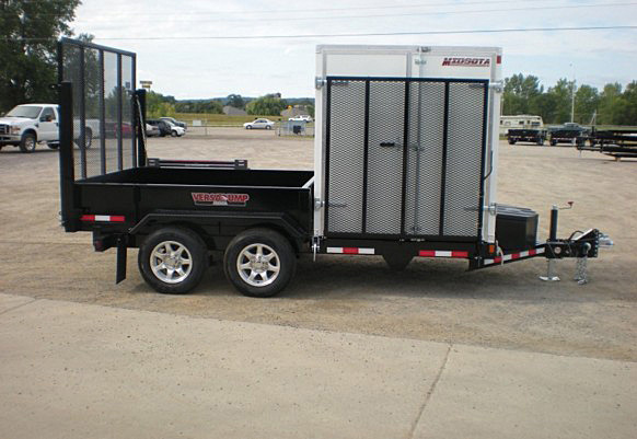 N. FFRD Series Front Flat Read Dump Trailers from Town and Country Commercial Trailer and Truck Sales, Kent (Seattle), WA