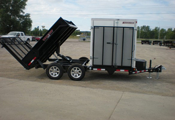 P. FFRD Series Front Flat Read Dump Trailers from Town and Country Commercial Trailer and Truck Sales, Kent (Seattle), WA