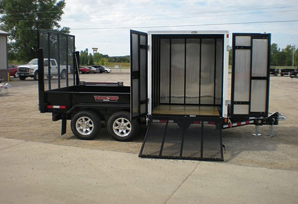 S. FFRD Series Front Flat Read Dump Trailers from Town and Country Commercial Trailer and Truck Sales, Kent (Seattle), WA